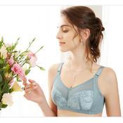 珠密琪2017春夏 新款专柜正品女士无钢圈文胸抹胸透气薄棉健康C杯内衣2733