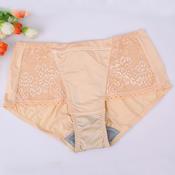 六月玫瑰专柜液化钛舒适透气抗菌中腰女士三角裤 65101